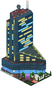 Getulio Vargas Tower (Night)