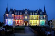 RealWorld Chateau les Fontaines (Night)