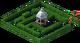 Decoration Hedge Maze
