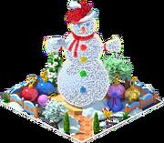 Mr. Snowman Installation