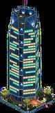 Hexagon Skyscraper (Night)