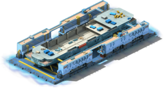 HC-30 Helicopter Carrier Construction