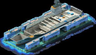 CV-32 Aircraft Carrier Construction