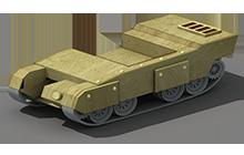 HP-20 Heavy Tank Construction