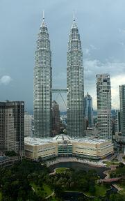 RealWorld Petronas Towers