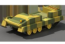 LP-45 Light Tank Construction