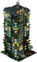 Lampion Residential Complex (Night)