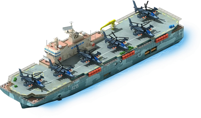 HC-30 Helicopter Carrier L1