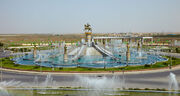 RealWorld Oguz Khagan Fountain