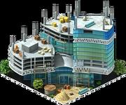 Fusionopolis Multifunctional Complex Construction