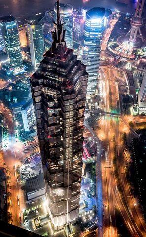 File:RealWorld Jin Mao Tower (Night).jpg