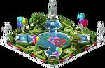 Fountain Garden (Valentine's Day)