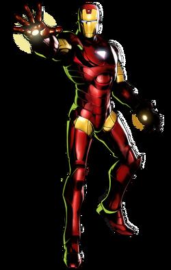 Iron Man CG Art