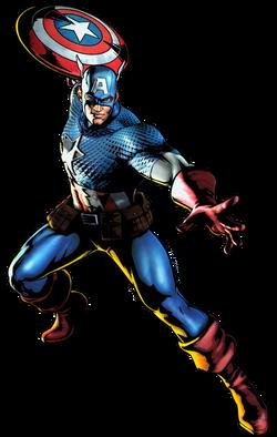 Captain America CG Art