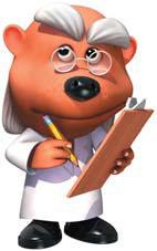 Professor Mole CG Art