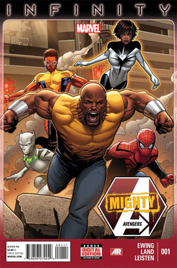 Mighty Avengers Volume 2 Issue 1 Cover