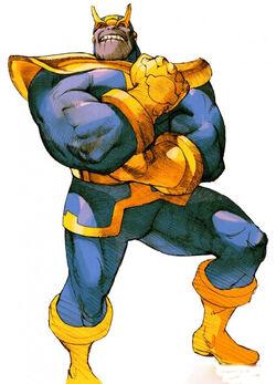 Thanos CG Art