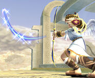 Palutena's Arrow Directed Upwards SSBB