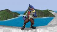 Falco Idle Pose 2 Brawl