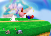 Kirby Up smash SSB