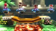 Four Revival Platforms in Super Smash Bros Wii U