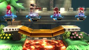 Four Revival Platforms in Super Smash Bros Wii U
