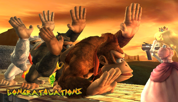 File:Donkey Kong Congratulations Screen All-Star Brawl.png