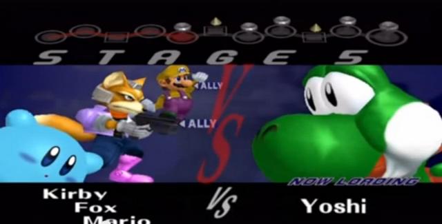 File:.028 Kirby Fox Mario Yoshi & Zachary.PNG