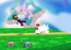 Mario Back throw SSB