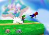 Luigi Forward throw SSB