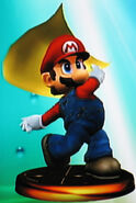 Mario smash trophy (SSBM)