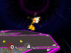 Pikachu Up aerial SSBM