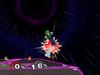 Luigi Down aerial SSBM