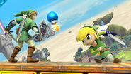 Link and Toon Link in Skyloft - (SSB. for Wii U)