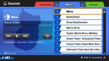 Sound Test Wii U