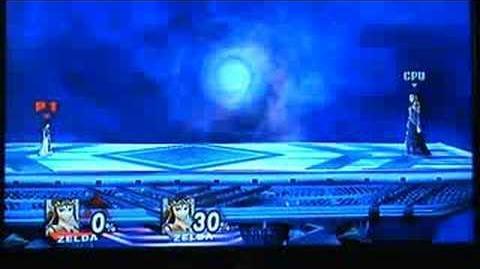 Zelda Sheik Lightning Glitch