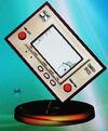 Game & Watch trophy (SSBM)
