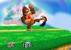 Donkey Kong Dash attack SSB