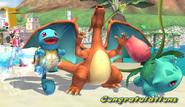 Pokemon Trainer Congratulations Screen Classic Mode Brawl