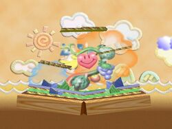 Melee Yoshis Island N64