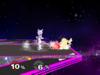 Mewtwo Floor attack (back) SSBM
