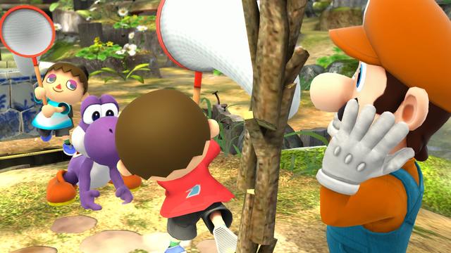 File:SSB4-Wii U Congratulations Yoshi All-Star.png