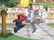 Super Jump Punch Mario SSBB