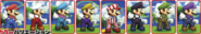 SSB4-Mario Palette 001