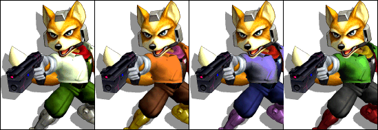 FoxColorsMelee