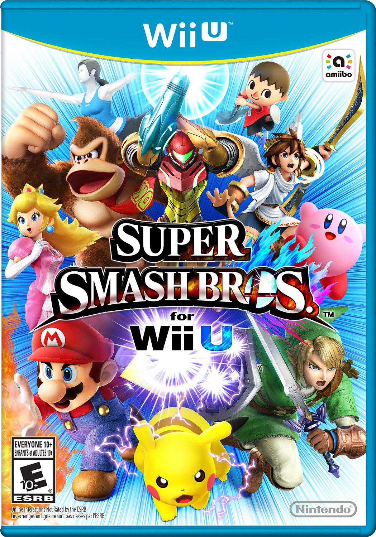 super smash bros for wii u and nintendo 3ds