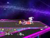 Zelda Floor attack (front) SSBM