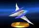 Arwing trophy