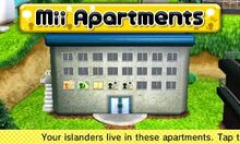 Mii Apartments Tomodachi Life