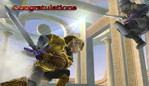 File:Link Congratulations Screen All-Star Brawl.png